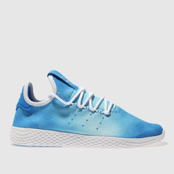 Adidas Blue Tennis Pharrell Hu Holi Womens Trainers