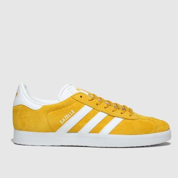 Adidas Yellow Gazelle Suede Trainers