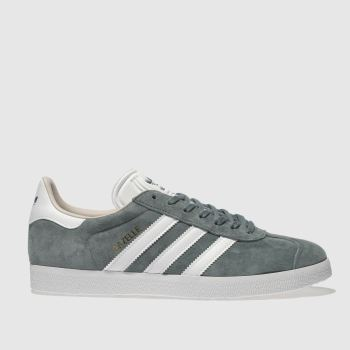 Adidas Green Gazelle Suede Womens Trainers