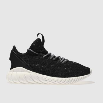 Adidas Black Tubular Doom Sock Primeknit Womens Trainers
