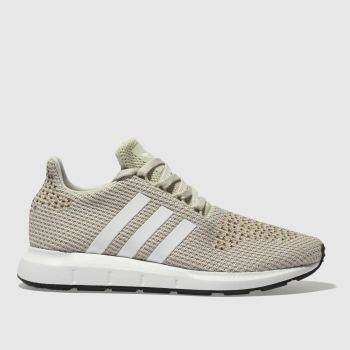 Adidas Beige Swift Run Womens Trainers