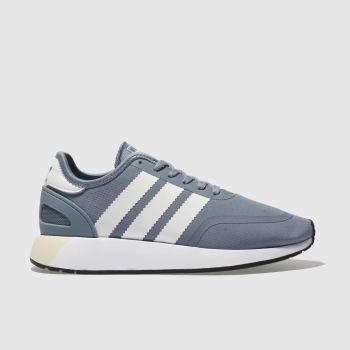 Adidas Blue N-5923 Womens Trainers