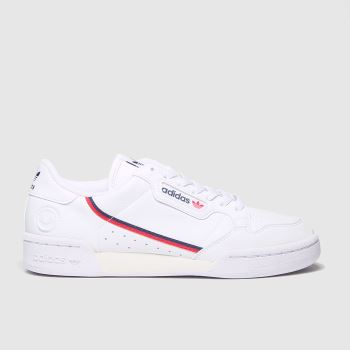 Adidas White Continental 80 Vegan Womens Trainers#