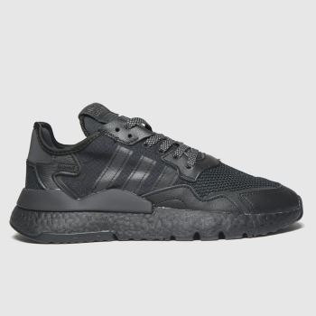 adidas Black Nite Jogger Womens Trainers#