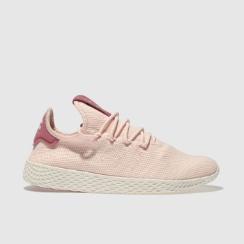 Adidas Pale Pink Pharrell Williams Tennis Hu Womens Trainers
