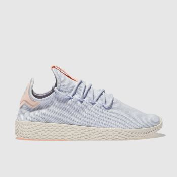 Adidas Pale Blue Pharrell Williams Tennis Hu Womens Trainers