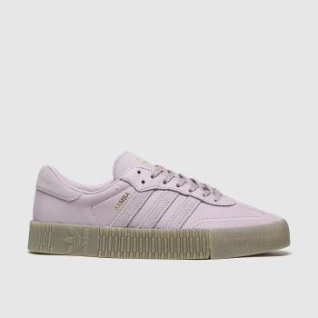 Adidas Lilac Sambarose c2namevalue::Womens Trainers