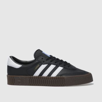 adidas Black & White Sambarose Womens Trainers