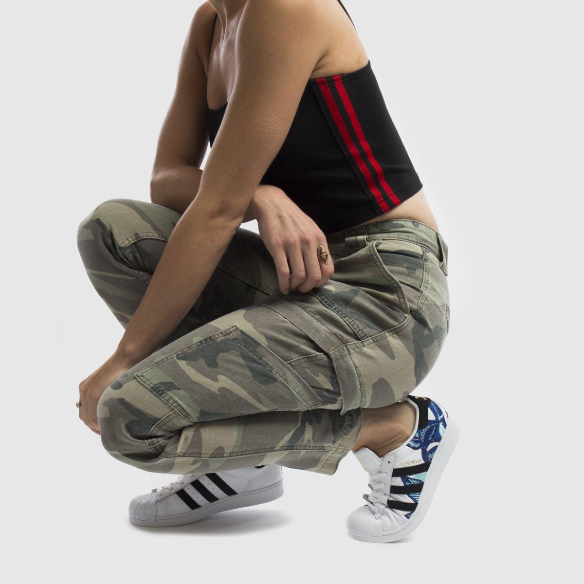 Damen Weiß-blau adidas Qualität Superstar Farm Sneaker | schuh Gute Qualität adidas beliebte Schuhe 15152f