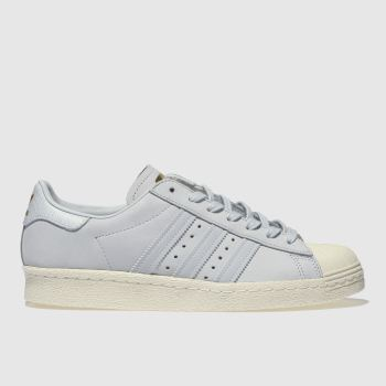 Adidas Pale Blue Superstar Womens Trainers