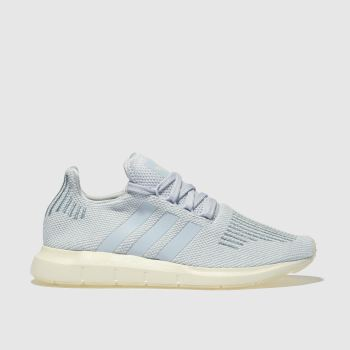 Adidas Pale Blue Swift Run Womens Trainers