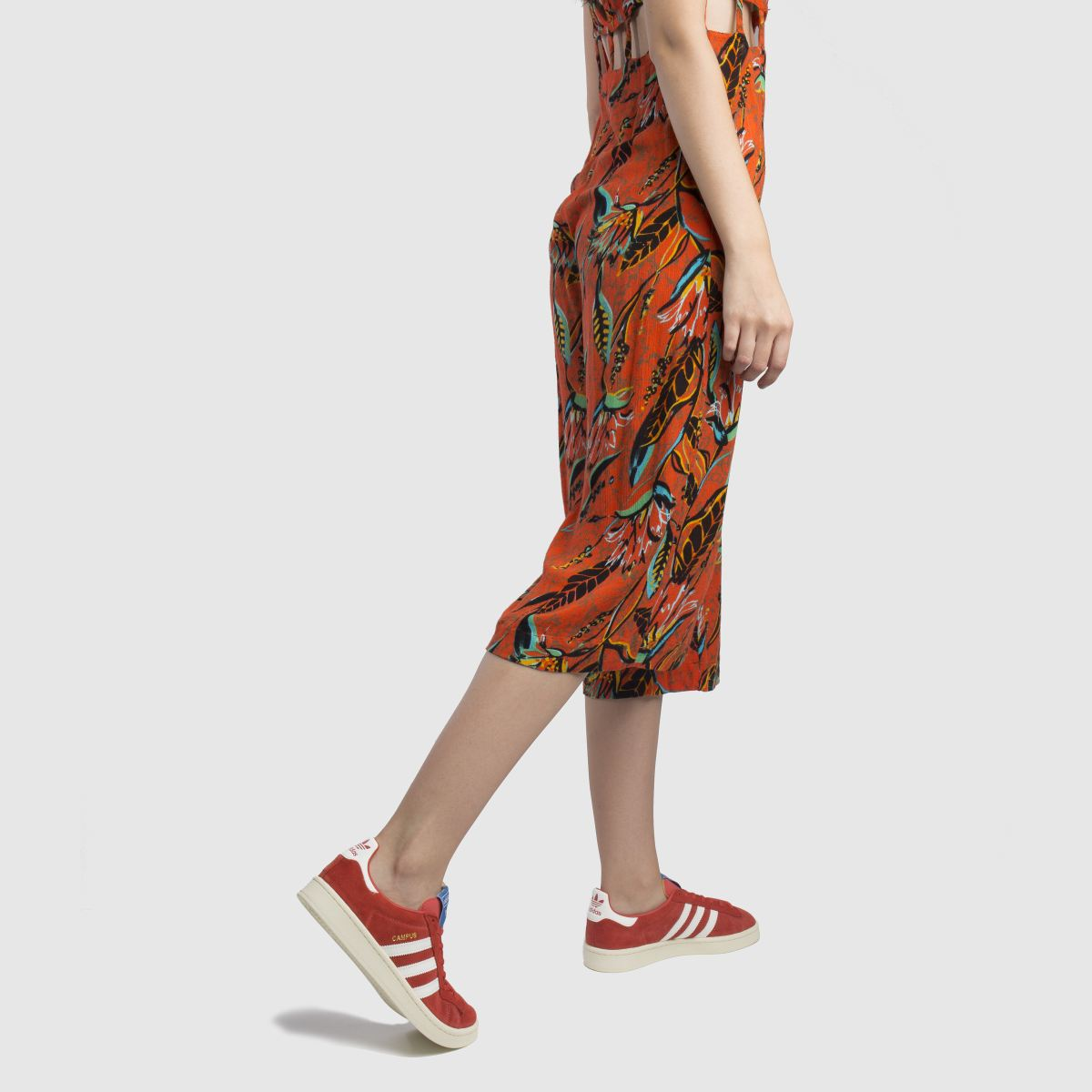 Damen Rot adidas Campus Suede Sneaker | schuh Gute Qualität beliebte Schuhe