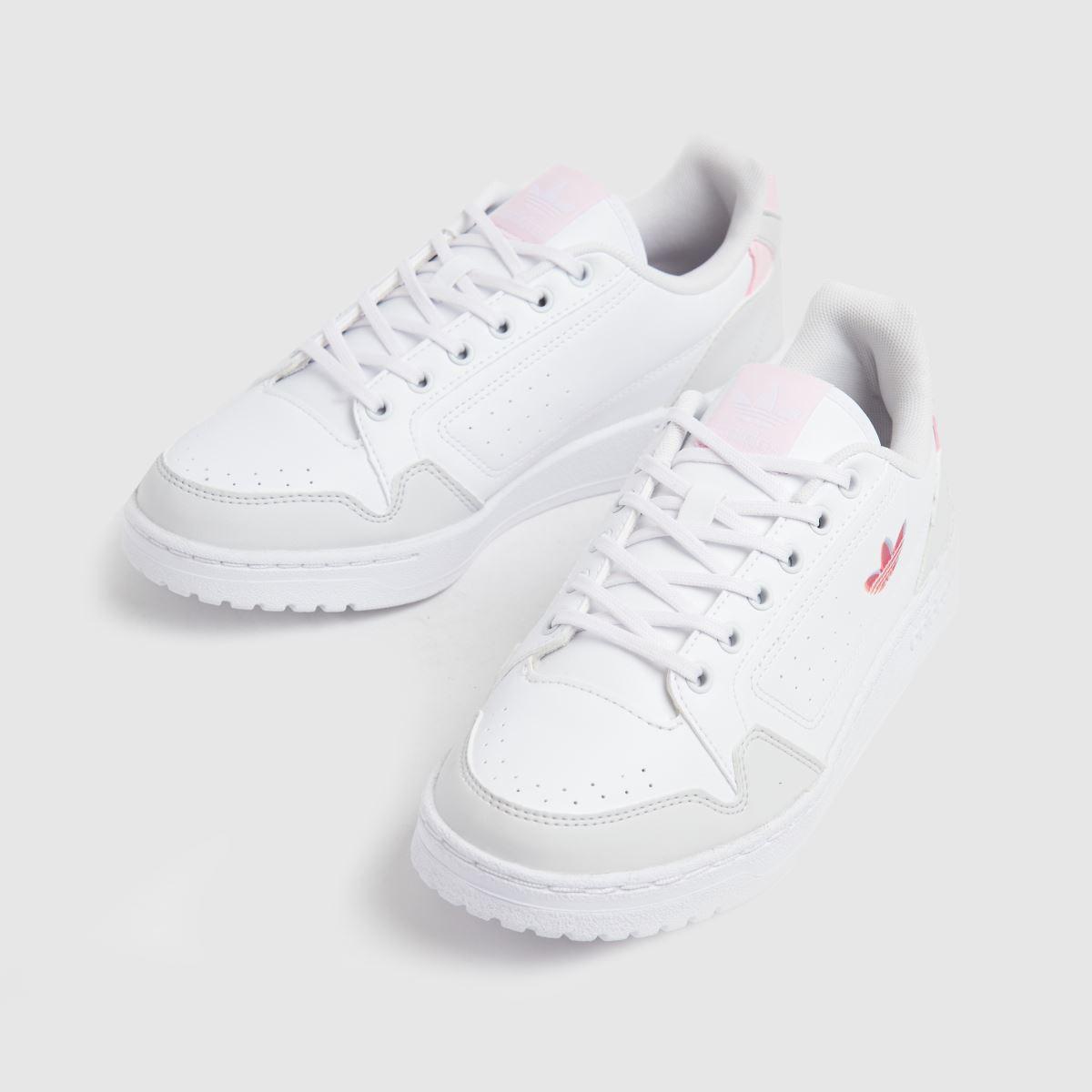 Damen | Weiß-pink adidas Deerupt Sneaker | Damen schuh Gute Qualität beliebte Schuhe 0ef641