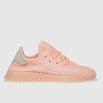 Adidas Pink Deerupt Womens Trainers