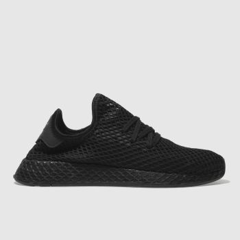 adidas black deerupt trainers
