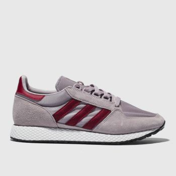 Adidas Pink Forest Grove Womens Trainers