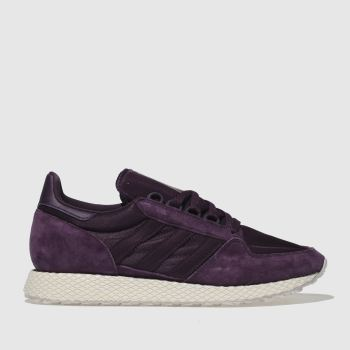 Adidas Purple Forest Grove Womens Trainers