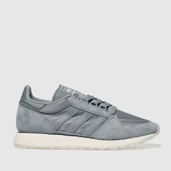 Adidas Blue Forest Grove Womens Trainers