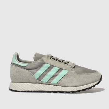Adidas Light Grey Forest Grove Womens Trainers