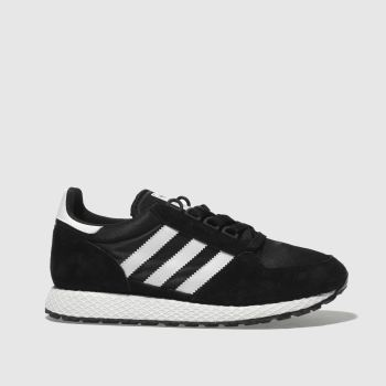 Adidas Black & White Forest Grove Womens Trainers