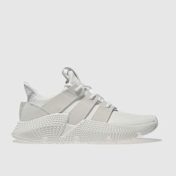 ADIDAS WHITE PROPHERE TRAINERS