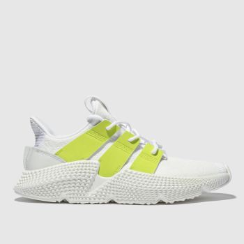 Adidas White & Green Prophere Womens Trainers
