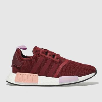 Adidas Burgundy Nmd R1 Womens Trainers