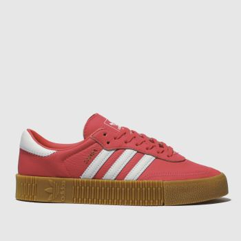 Adidas Pink Sambarose c2namevalue::Womens Trainers