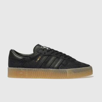 Adidas Black Sambarose Womens Trainers