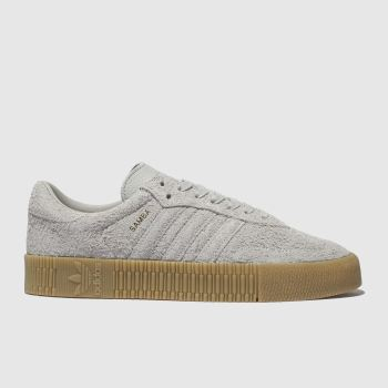 Adidas Grey Sambarose Womens Trainers