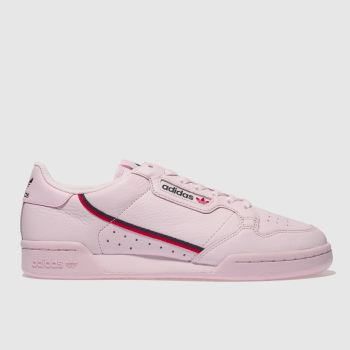 Adidas Pink Continental 80 Womens Trainers