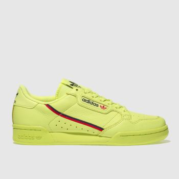 Adidas Lime Continental 80 Womens Trainers
