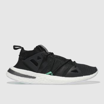 Adidas Black & Green Arkyn Womens Trainers