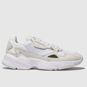 Adidas White Falcon c2namevalue::Womens Trainers