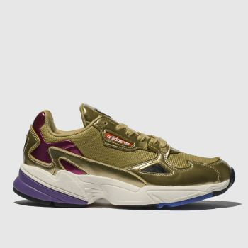Adidas Gold Falcon Womens Trainers