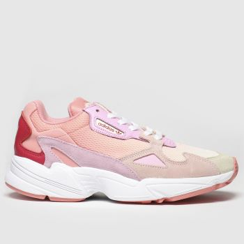 Adidas Peach Falcon Womens Trainers