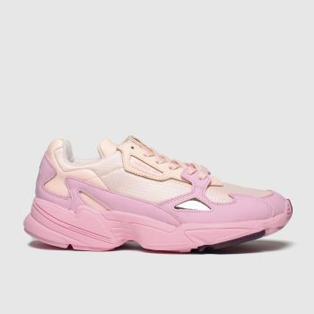 Adidas Pale Pink Falcon Womens Trainers