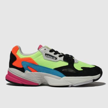 Adidas Lime Falcon Womens Trainers