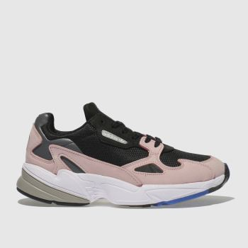 Adidas Black & pink Falcon Womens Trainers