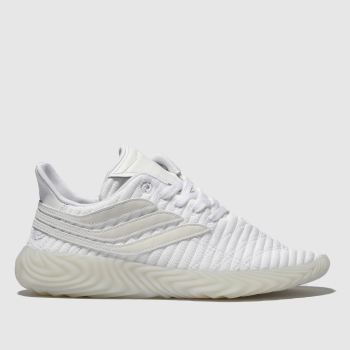 Adidas White Sobakov Womens Trainers