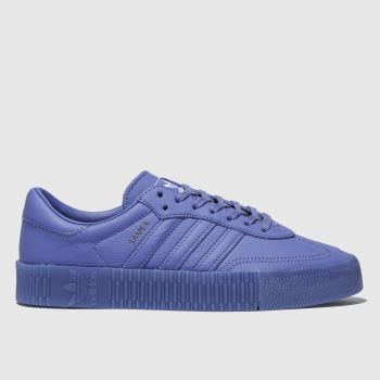 Adidas Blue Sambarose Womens Trainers