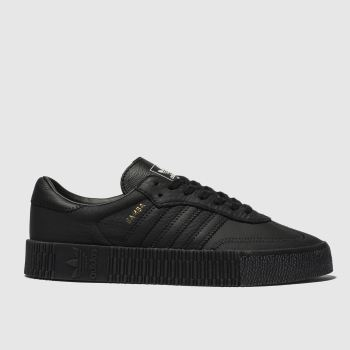 Adidas Black Sambarose Womens Trainers from Schuh