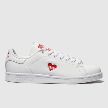 new style a9aeb 948c4 Adidas White Stan Smith Womens Trainers