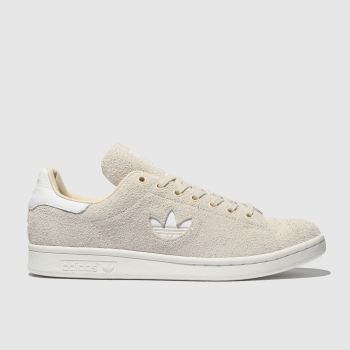 ADIDAS NATURAL STAN SMITH SUEDE TRAINERS