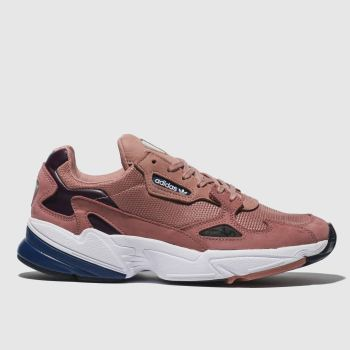 Adidas Pink Falcon Womens Trainers