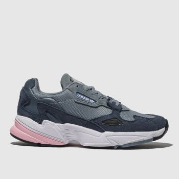 Adidas Navy Falcon Womens Trainers