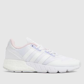 adidas White Zx 1k Boost Womens Trainers