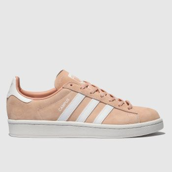 Adidas Peach Campus Suede Womens Trainers