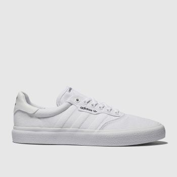 adidas Skateboarding White 3mc Womens Trainers#