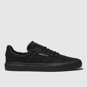 Adidas Skateboarding Black 3Mc Womens Trainers